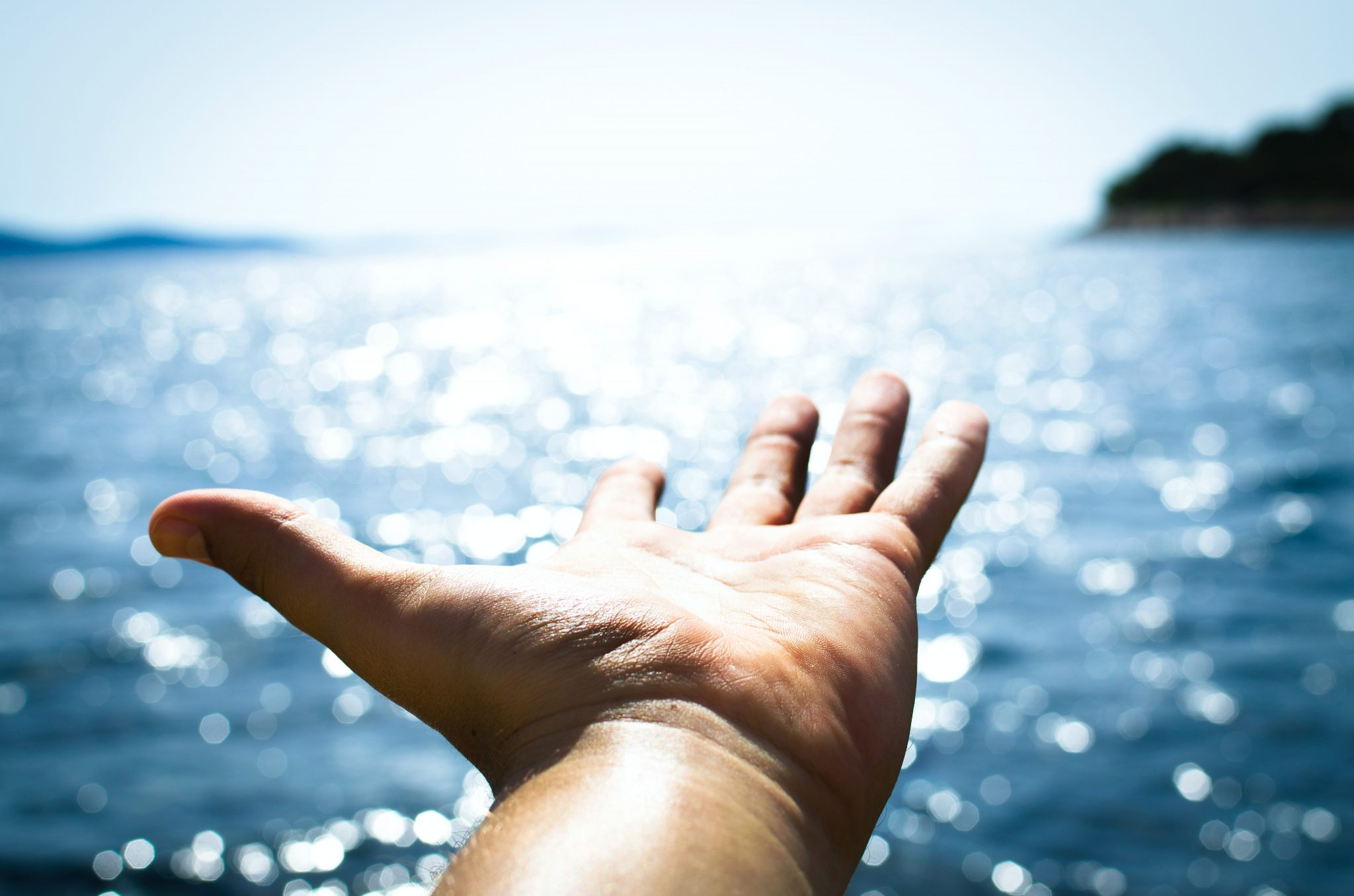 open hand offering the hope and healing from Christian Counseling in Jenison MI by Great Lakes Wellness Counseling